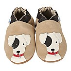 Robeez® Soft Soles™ Size 0-6M Doggy Dale Shoe in Tan