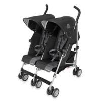Maclaren® Twin Triumph Double Stroller in Black/Charcoal