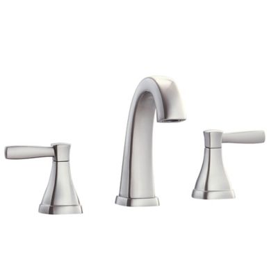 Avanity Clarice 2 Handle 8 Inch Widespread Bathroom Faucet In Brushed Nickel