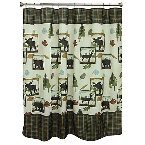 Bacova Woodlands Shower Curtain Bed Bath Beyond