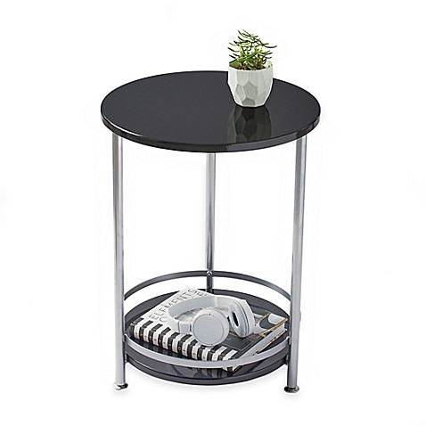 Tier Round Side Table Bed Bath Beyond - 2 tier round coffee table