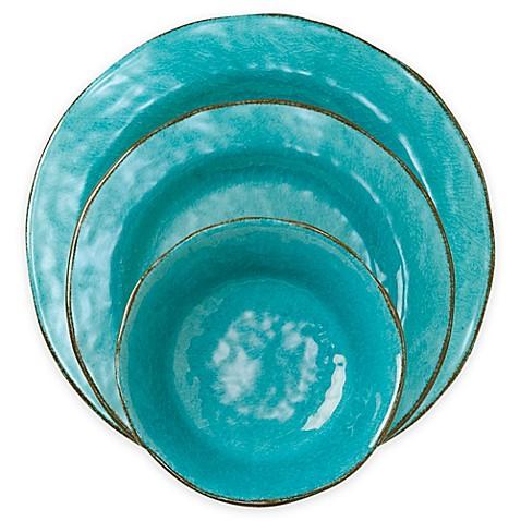 tag Veranda Dinnerware Collection in Ocean Blue  sc 1 st  Bed Bath u0026 Beyond & tag Veranda Dinnerware Collection in Ocean Blue - Bed Bath u0026 Beyond
