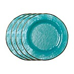 tag Veranda Salad Plates in Ocean Blue (Set of 4)