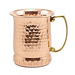 Old Dutch International  Sui Generis  17 oz. Hammered Solid Copper Moscow Mule Mugs (Set of 4)
