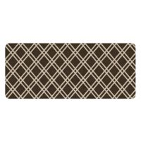 Premium Comfort by Weather Guard™ 22-Inch x 52-Inch Colby Kitchen Runner in Chocolate