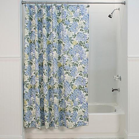 Hydrangea Shower Curtain In Blue Bed Bath Amp Beyond