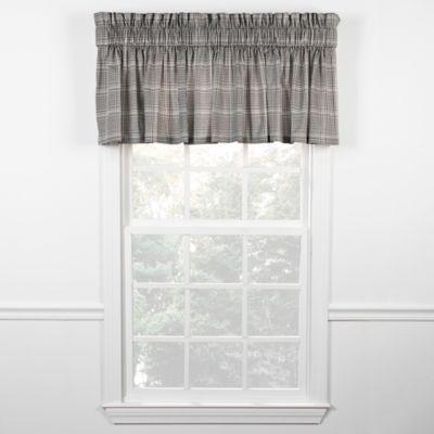 morrison window valance in black