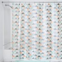 InterDesign Triangles Shower Curtain