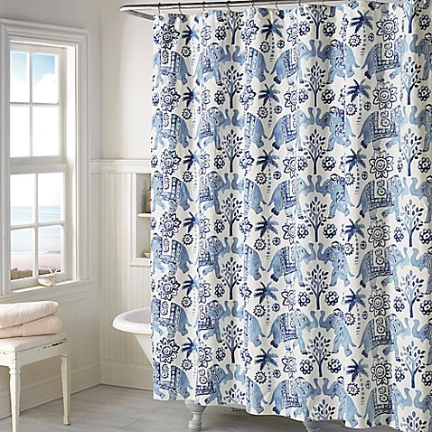 zanzibar shower curtain bed bath beyond