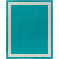 Artistic Weavers Holden Blair 7-Foot 6-Inch x 9-Foot 6-Inch Area Rug in Teal/Ivory