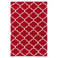 Artistic Weavers Holden Finley 5-Foot x 7-Foot 6-Inch Area Rug in Red/Ivory