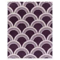 Artistic Weavers Holden Sienna 7-Foot 6-Inch x 9-Foot 6-Inch Area Rug in Purple/Ivory