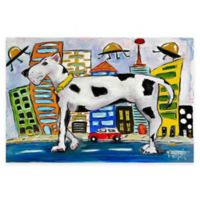 Marmont Hill Urban Abduction 60-Inch x 40-Inch Canvas Wall Art