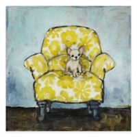 Marmont Hill Dog Allowed In 40-Inch x 40-Inch Canvas Wall Art