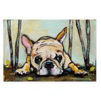 Marmont Hill Smushy 18-Inch x 12-Inch Canvas Wall Art