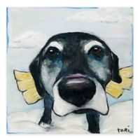 Marmont Hill All Good Dogs 18-Inch x 18-Inch Canvas Wall Art