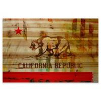 Parvez Taj Cali 45-Inch x 30-Inch Pine Wood Wall Art