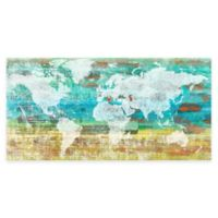 Marmont Hill Aqua Day 45-Inch x 22-Inch Canvas Wall Art