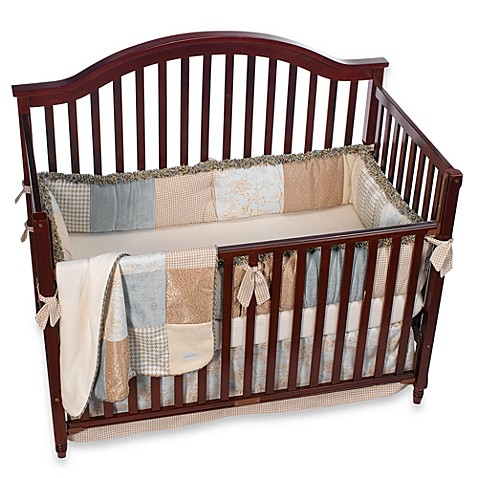 Central Park 4 Piece Crib Bedding Set By Glenna Jean