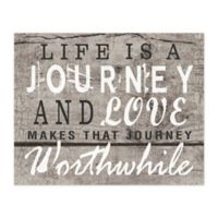 Worthwhile Journey 20-Inch x 16-Inch Canvas Wall Art