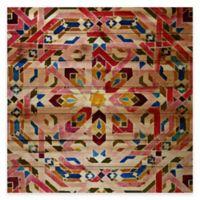 Parvez Taj Farnatchi 24-Inch x 24-Inch Pine Wood Wall Art