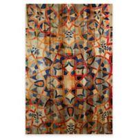 Parvez Taj Figuig 24-Inch x 36-Inch Pine Wood Wall Art