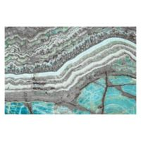 Marmont Hill Blue Grey Mountains 60-Inch x 40-Inch Canvas Wall Art