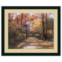Diane Romanello Autumn Road Framed Wall Art
