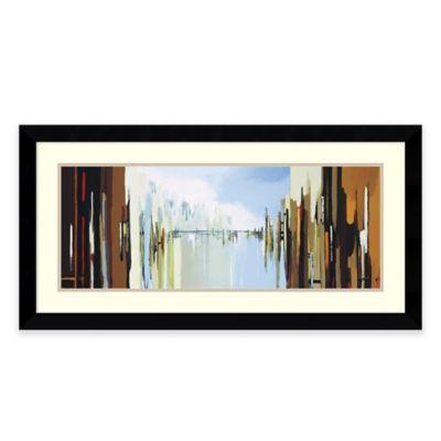 Gregory lang urban abstract framed wall art