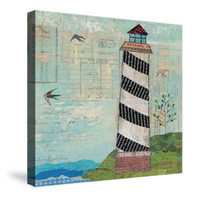 Laural Home® Coastal Lighthouse Canvas Wall Art