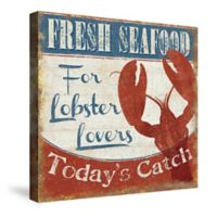 Laural Home® Fresh Seafood and Lobster Canvas Wall Art