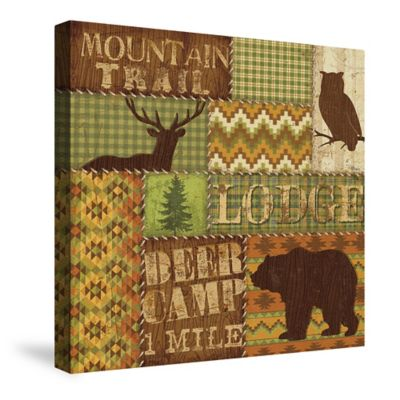 Laural Home® Woodland Words I Canvas Wall Art