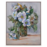 Bassett Mirror Company Elegant Flowers Canvas Wall Art
