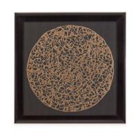 Bassett Mirror Company Gold Decograph Wall Art