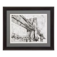 Bassett Mirror Company Iconic Suspension Bridge II Framed Print Wall Art