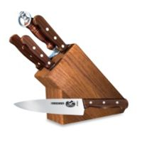 Victorinox Swiss Army Rosewood 7-Piece Knife Block Set