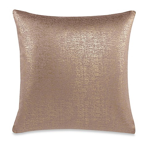 Throw Pillow Covers Bed Bath Beyond : Make-Your-Own-Pillow Buckingham Streets Throw Pillow Cover in Gold - Bed Bath & Beyond
