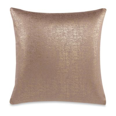 Make-Your-Own-Pillow Buckingham Streets Throw Pillow Cover in Gold - Bed Bath & Beyond