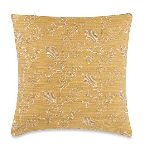 Make Your Own Pillow Germaine Leaves Throw Pillow Cover In