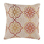 Make-Your-Own-Pillow Omnia Throw Pillow Cover in Orange/Gold