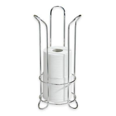 Classico Freestanding Toilet Paper Roll Holder In Chrome