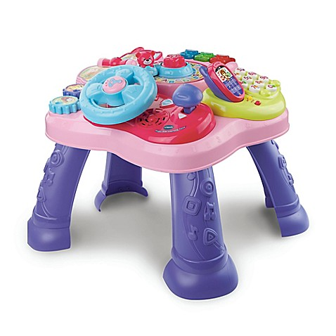 vtech the magic star learning table buybuy baby. Black Bedroom Furniture Sets. Home Design Ideas