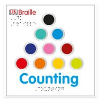 """""""DK Braille: Counting"""" Board Book"""