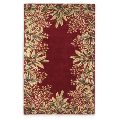 Buy Black Red Rug From Bed Bath Amp Beyond