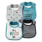 carter's® 4-Pack  Wild  Teething Bibs in Multicolor