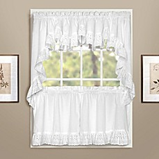 Beau Vienna Window Curtain Tier Pair And Valances