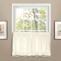 Vienna 24-Inch Window Curtain Tier Pair in Natural