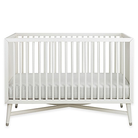 dwellstudio mid century 3 in 1 convertible crib in french