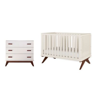 DwellStudio Norfolk Nursery Furniture Collection in French White