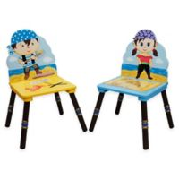 Teamson Fantasy Fields Pirates Chairs (Set of 2)
